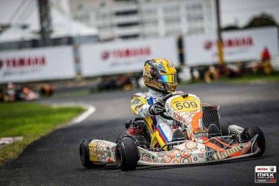 Austin Jang wins in Taiwan Rotax DD2 race, on first time out on our chassis