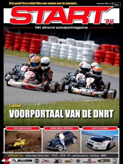Jarno Sutens and Flandria Kart hitting the cover of START 84 again !