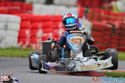 Thomas Dijkstra, our diamond in the dirt ! #sorrynotsorry , Daan Postma Flandria Kart Rookie show potential