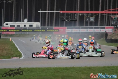 Dijkstra and Garkaklis protagonists at Rotax Euro Series, And a first Euro podium ! !