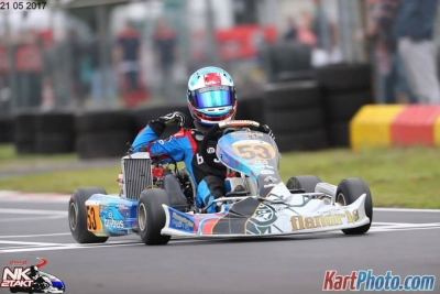 Factory Driver Thomas 'Starboy' Dijkstra shows muscles and wins round 3 of the Dutch Nationals