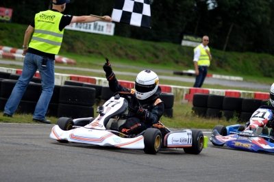 Unique (His)Story on a 2011 Flandria Kart S1 Chassis, winning the Dutch RK1 series in 2015 !